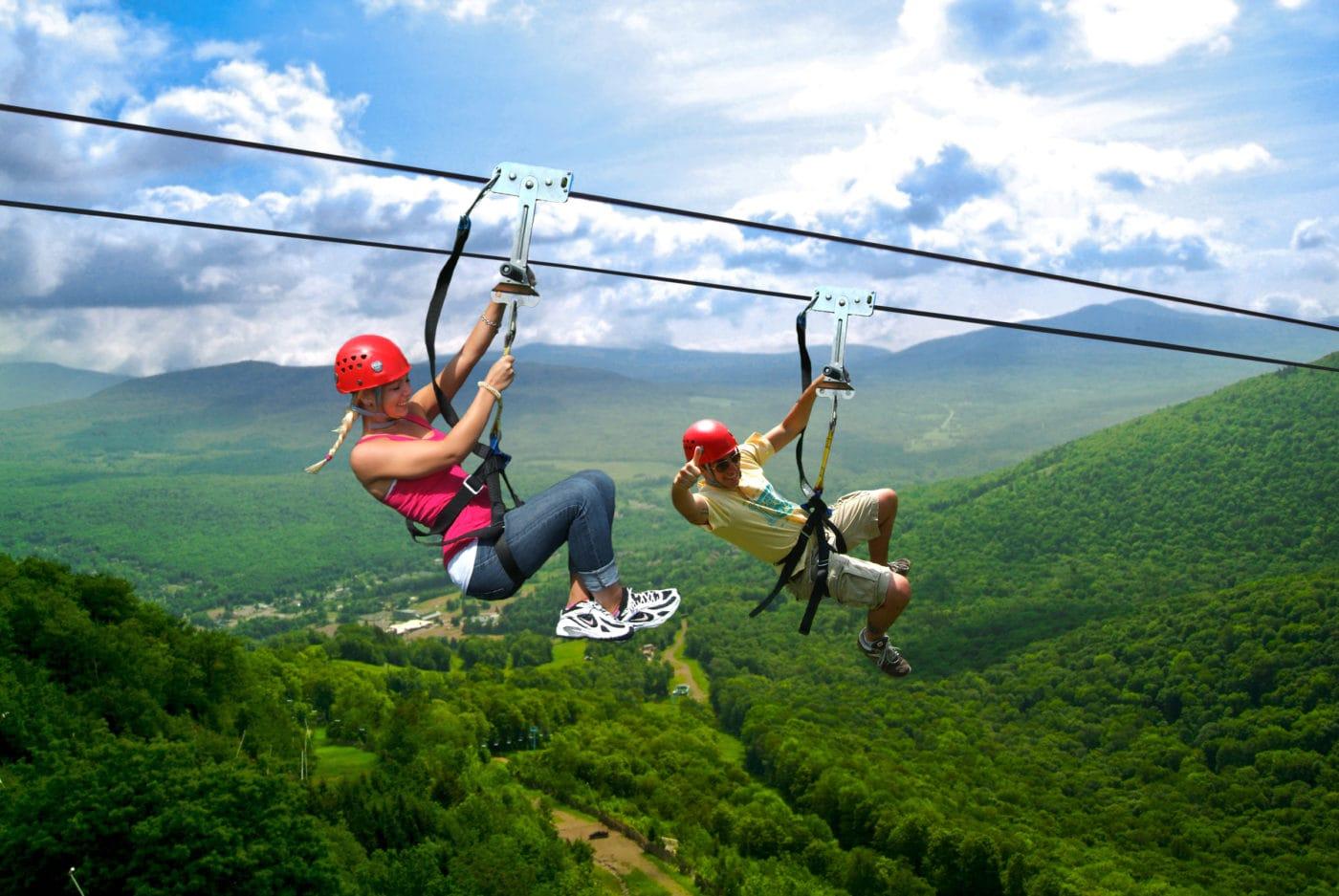 Hunter Mountain - Skyrider Tour