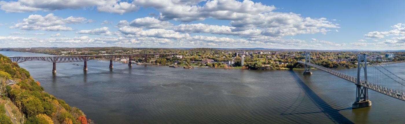 Poughkeepsie waterfront (photo by Pierce Johnston)