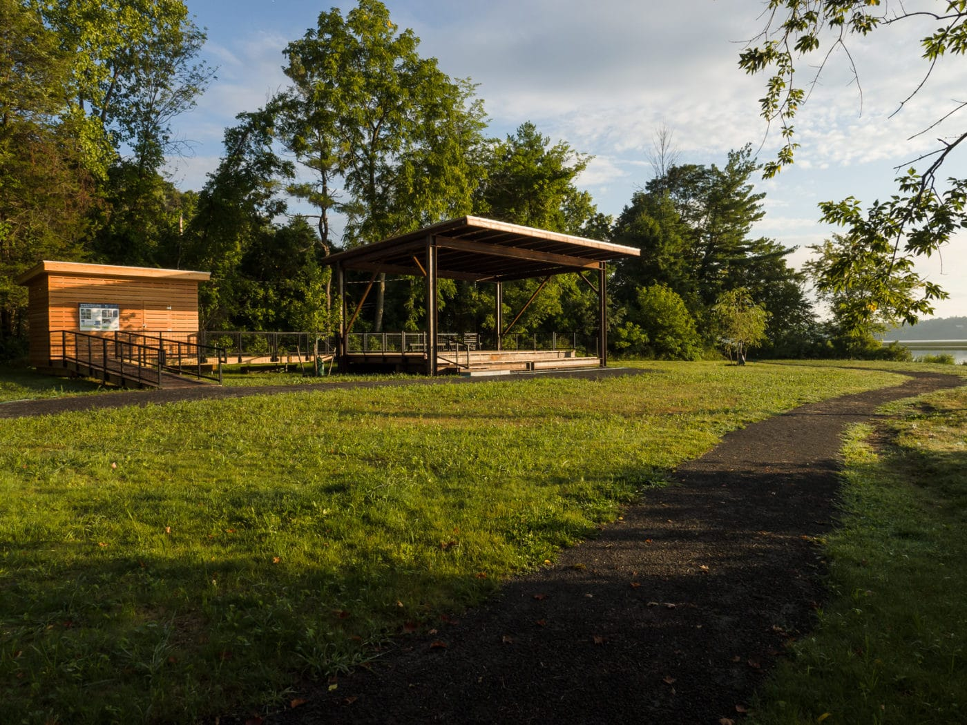 Pavilion at Esopus Meadows Preserve