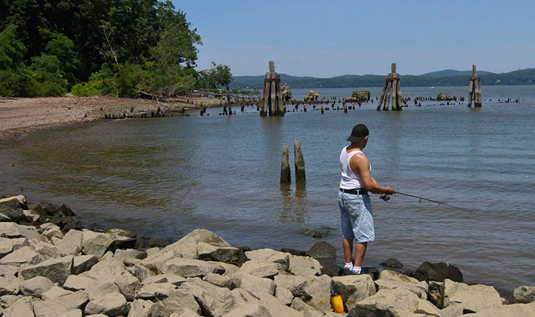 Fishing in Haverstraw
