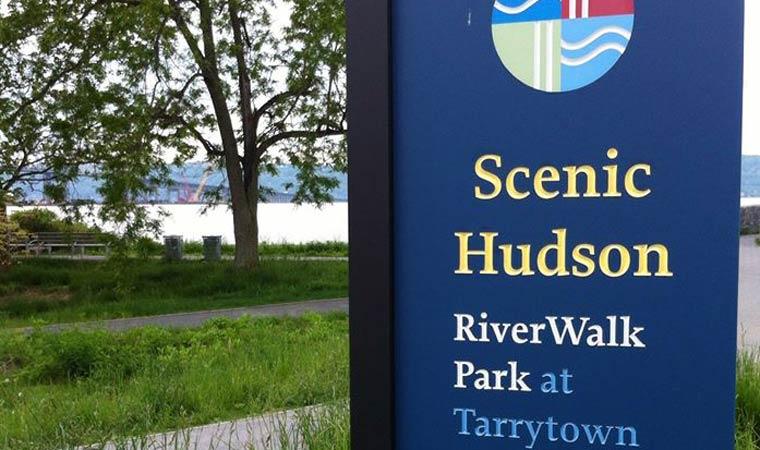 Westchester RiverWalk Sign