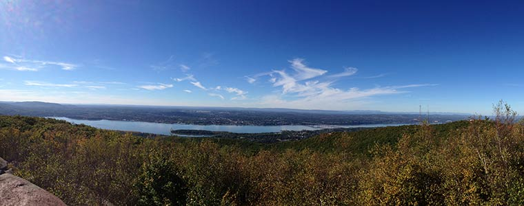 View from Mount Beacon Summit
