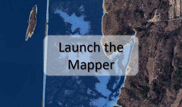 Launch the Sea Level Rise Mapper