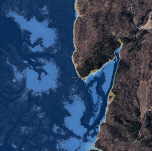 Launch the Sea Level Rise Mapper
