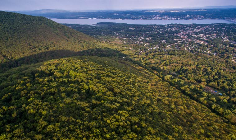Newly protected land on Fishkill Ridge