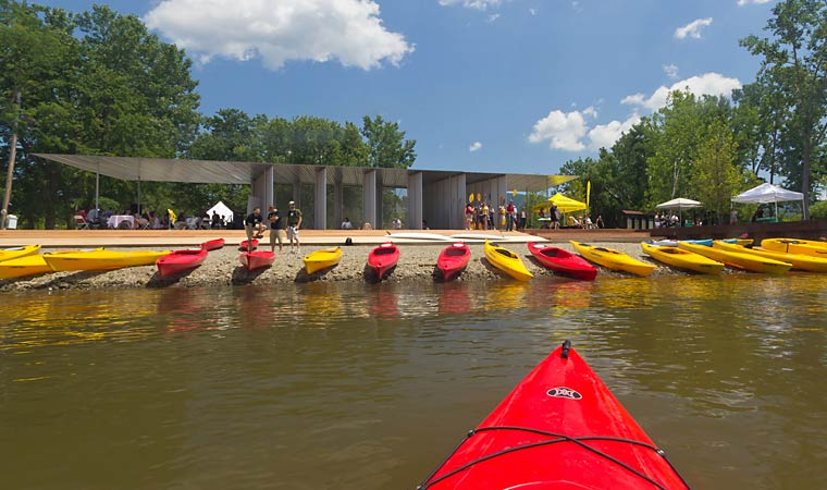 Long Dock Kayak Pavilion