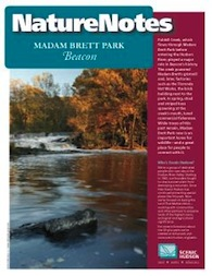 Madam Brett Nature Notes Booklet