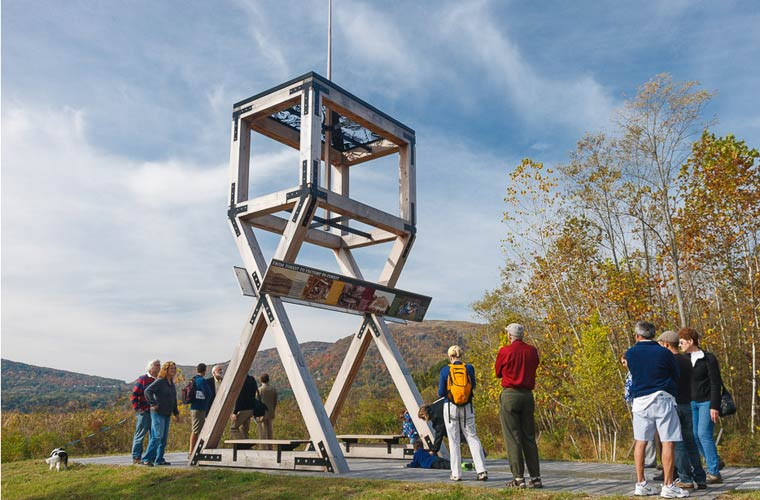 Gun platform at West Point Foundry Preserve