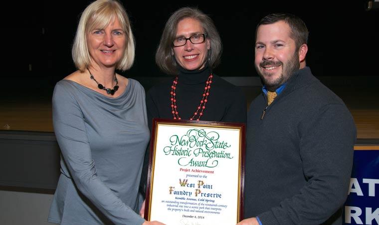 Scenic Hudson Receives Historic Preservation Award