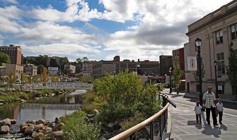 Daylit Saw Mill River, Yonkers