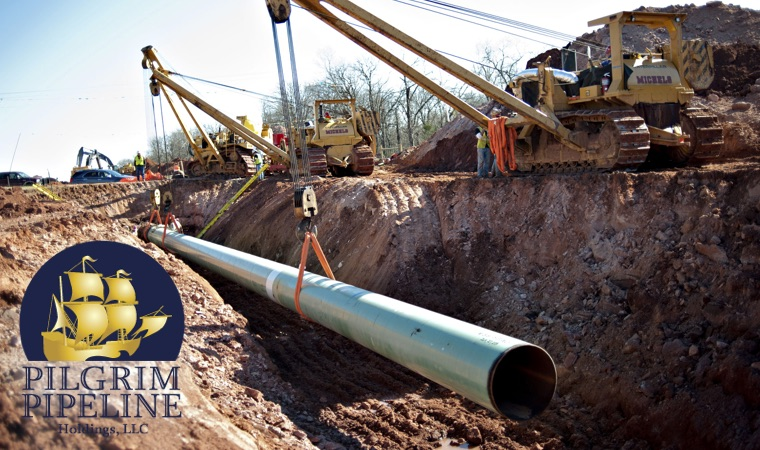 Pipeline installation photo