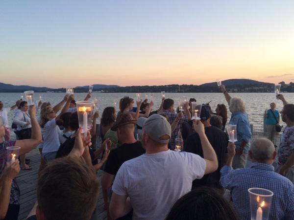 Candlelight PCB vigil