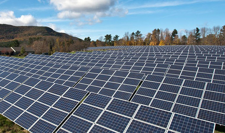 Large Scale Solar Array