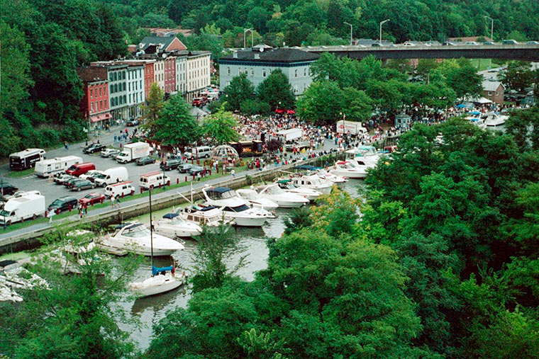 Waterfront Festival along the Rondout in Kingston