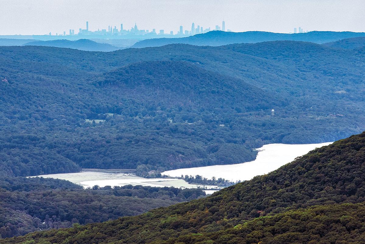 Scofield ridge view
